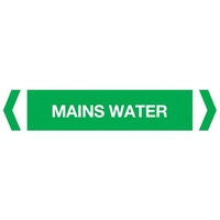 Mains Water Pipe Marker (Pack Of 10)