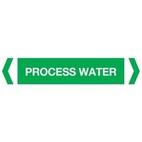 Process Water Pipe Marker (Pack Of 10)