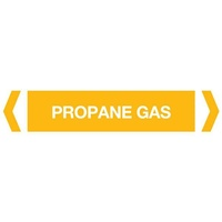 Propane Gas Pipe Marker (Pack of 10)