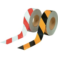 Black/Yellow Class 2 Reflective Tape - 48mm