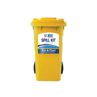 120ltr Wheelie Bin Spill Kit - Oil Only