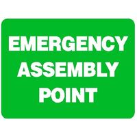Emergency Sign - Emergency Assembly Point