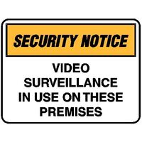 Security Notice - Video Surveillance In Use On These Premises