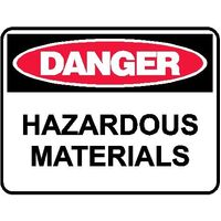 Danger Sign - Hazardous Materials