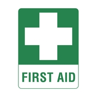 First Aid Stickers - Pack of 10
