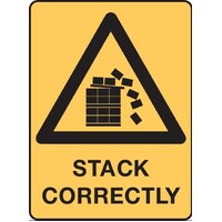 Warning Stack Correctly Sign