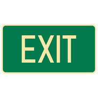 Luminous Exit Sign