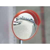 Outdoor Convex Mirror - 450mm post mount