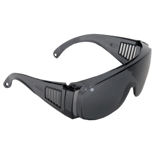 Visitor Safety Glasses (Overspecs) - Smoke