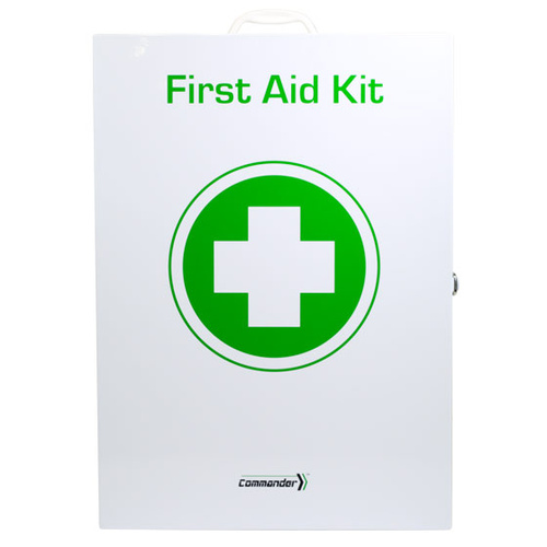 Commander™ 6M Industrial Max Pro First Aid Kit - Metal Case