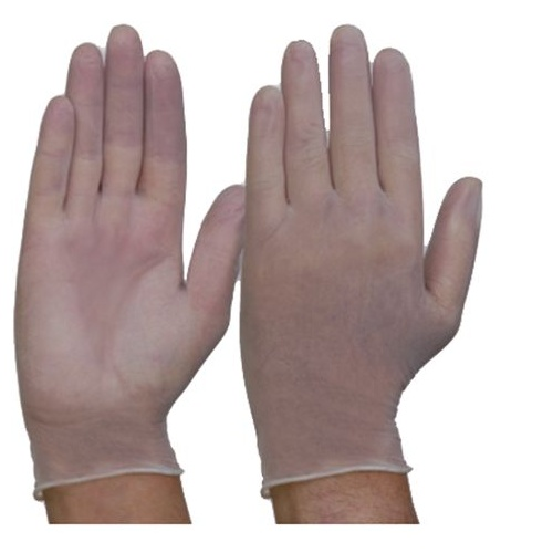 Vinyl Disposable Gloves - Clear - 7
