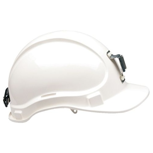 Exoguard Premium Miners Hard Hat Vented With Lamp Bracket