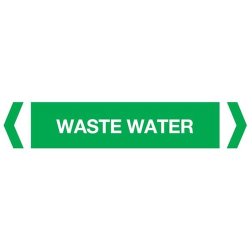 Waste Water Pipe Marker (Pack of 10)