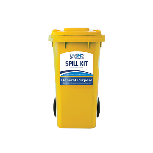 ExoGuard™ 240 Litre Wheelie Bin Spill Kit -  (General Purpose) Universal