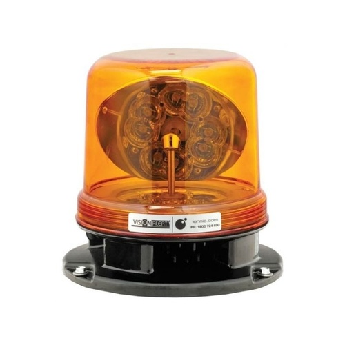 Ionnic Rotating Beacon LED Amber With Bolt-On Base